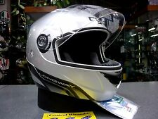 CASCO MODULARE AGV LONGWAY SILVER XS MOTORCYCLE HELMET HELM CASQUE
