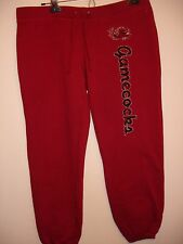South Carolina Gamecocks Youth L Red Sweatpants with Screen Print Logo NEW