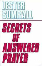 Secrets of Answered Prayer by Sumrall, Lester Frank, Good Book