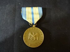 US Military Army Armed Forces Reserve Medal With Blue & White Ribbon