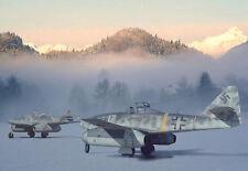 Dawn of a New Era - Me 262 Messerschmitt - War A3 Art Poster Print