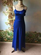 Blondie and Me Benign Womens Blue Tiered Dress Size 3/4