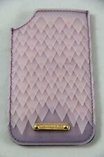 BNWT Burberry Iphone 6 7 Lilac Purple Luxury Soft Leather Sleeve 100% Authentic