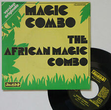 "Vinyle 45T The African Magic Combo  ""Magic combo"""