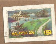 Ori mounted on envelope East-west Highway  stamp  20c