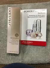New Shiseido Benefiance extra creamy cleansing Foam 125mL+Free Sample