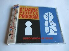Assembly Line People Program Subdivision Of Being CD Japan Import OBI Strip
