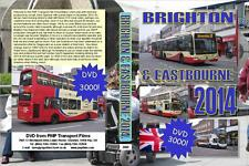 3000. East Sussex. UK. Buses. December 2014. Starts at Eastbourne and then on to