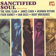 SANCTIFIED SOUL Various Artists   NEW 60s SOUL / SOUTHERN SOUL CD (KENT)  R&B