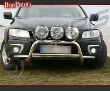 VOLVO XC70 2007+ LOW BULL BAR WITHOUT AXLE BARS +GRATIS! STAINLESS STEEL!!