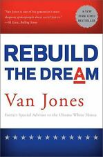 Rebuild the Dream by Van Jones (2013, Paperback)