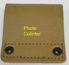 Passant porte équipements en cuir jaune pour ceinturon mle 1945
