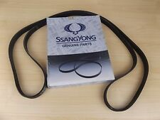 GENUINE SSANGYONG MUSSO SPORTS UTE 2.9L TURBO DIESEL ALL MODEL  ENGINE BELT