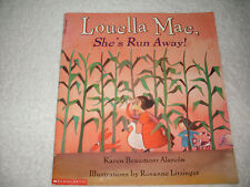 Kids paperback grk-2:Louella Mae,She's Run Away!rhyming story-where Louella pig?
