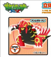 Tomy XY 04 1/40 Scale Real Pokemon Figure Zukan gashapon Primal Groudon
