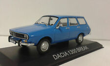 DACIA 1300 BREAK (RENAULT R-12 FAMILIAR) LEGENDARY BALKAN CARS DEAGOSTINI 1/43