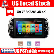 US! Portable GPD Q9 9inch IPS Android 4.4 Gamepad Tablet PC Console Game Player