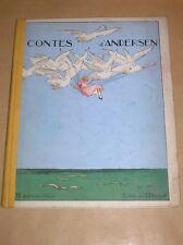 LIVRE / CONTES D'ANDERSEN / 1951 / ILLUSTRE PAR A. PECOUD / BON ETAT