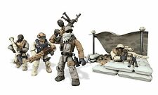 CALL OF DUTY Mega Bloks DESERT OUTPOST w/ Figures Lego-type Small Building Set