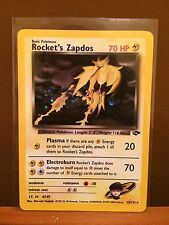 Rocket's Zapdos (15/132) Gym Challenge Holo Pokemon Card. Mint Condition