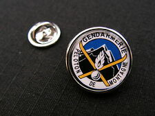 "Pin's "" GENDARMERIE peloton de montagne "" article fantaisie SKI Snake patch"