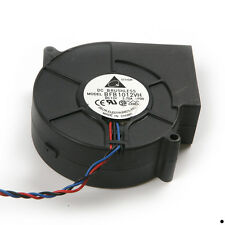 1Pc 3 Wire Black 12V DC Brushless Blower Fan Cooling Cooler For Barbecue Stove