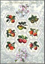 LIECHTENSTEIN - 2015 - Traditional Fruits: Apple. Sheet of 8v. Mint NH