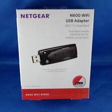 Netgear Stick N600 Dual Band USB Adapter WPA2 WPS bis zu 600 MBit/s Stick & Surf