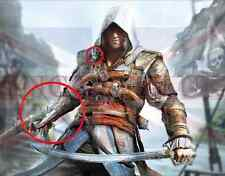 Assassini Creed 4 Quattro Black Flag PIRATE Hidden Blade (Pvc) LO STESSO GIORNO SPEDIZIONE