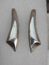 Vintage SIGI PINEDA Mexican 925 Sterling Silver EARRINGS Taxco Tasco
