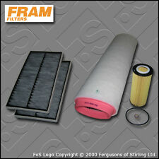 SERVICE KIT BMW 5 SERIES 525D E60 E61 FRAM OIL AIR CABIN FILTER (2004-2010)