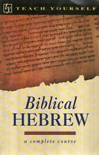A17 Biblical hebrew a complete course IN INGLESE