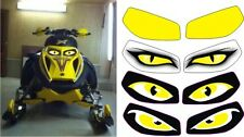SKI DOO BRP OLDER REV MX Z SUMMIT MACH 600 ZRT  SX ZX HEADLIGHT  DECAL STICKER 2