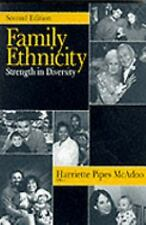 Family Ethnicity : Strength in Diversity (1999, Paperback, Revised)
