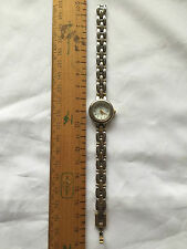 Anne Klein II Silver & Gold Tone Ladies Quartz Watch