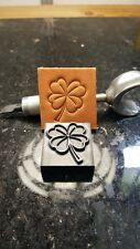 Four (4) Leaf Clover leather embossing stamp