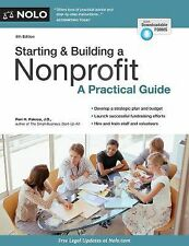 Starting and Building a Nonprofit : A Practical Guide by Peri Pakroo (2015,...