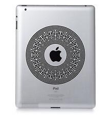 PATTERN #03 Apple iPad Mac Macbook Laptop Sticker Vinyl decal. Custom colour