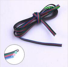 1m 4-PIN Extension Wire Cable Cord for 3528 5050 RGB LED SMD Strip Connector Hot