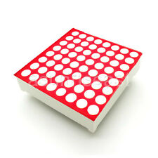 10 x Red 3mm LED Dot Matrix Display Module Common Cathode 8x8 64 Point 16-Pin