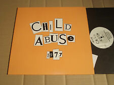 """CHILD ABUSE - 1977 - 3-TRACK-SINGLE-SIDED 12"""" VINYL MAXI - RE-FORCE REC. RE009"""