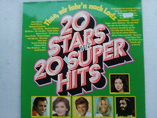 20 Stars mit 20 Superhits