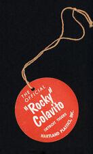 1958-62 Rocky Colavito Hartland Statue Hang tag ★ RARE ★ High grade!