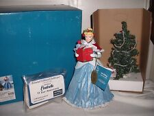 New Possible Dreams Clothtique Disney 55th Year Anniversary Cinderella 2 Pc.Boxd