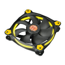 Thermaltake riing 12 Led Amarillo - 12cm Anillo Amarillo Led Pc Funda Fan - 40,6 Cfm