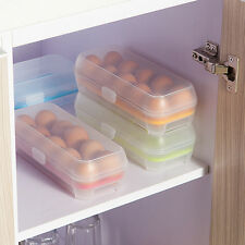 Fridge Egg Holder Freezer Multicolor Tray Box Storage Case 10PCS Eggs Plastic