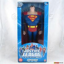 Justice League Unlimited Superman 10 inch 25cm figure DC Super Heroes blue box