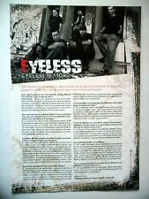 COUPURE DE PRESSE-CLIPPING :  EYELESS  02-03/2007 Fred,The Game Of fear