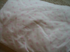 Next pink polka dot single fitted sheet - Excellent condition