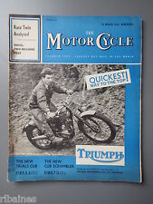 R&L Mag: Motorcycle March 1962, Steering Head Judder/Monza Sidecar-Royal Enfield